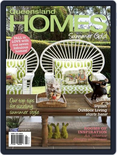 Queensland Homes December 12th, 2012 Digital Back Issue Cover