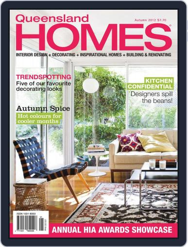 Queensland Homes April 11th, 2012 Digital Back Issue Cover