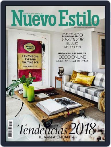 Nuevo Estilo (Digital) January 1st, 2018 Issue Cover