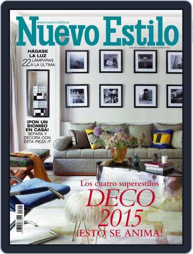 Nuevo Estilo (Digital) October 27th, 2014 Issue Cover