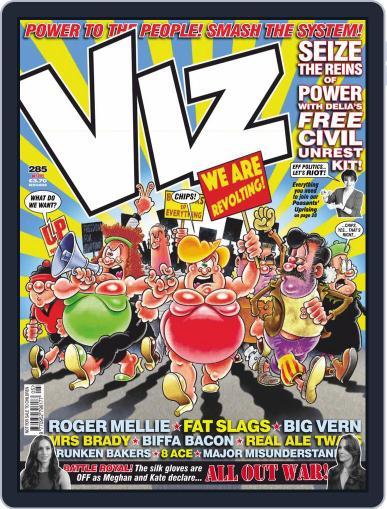 Viz (Digital) May 1st, 2019 Issue Cover