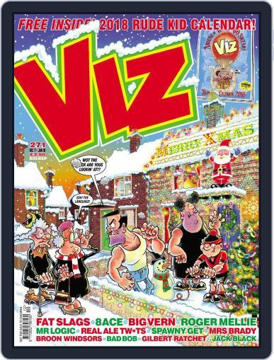 Viz (Digital) December 1st, 2017 Issue Cover