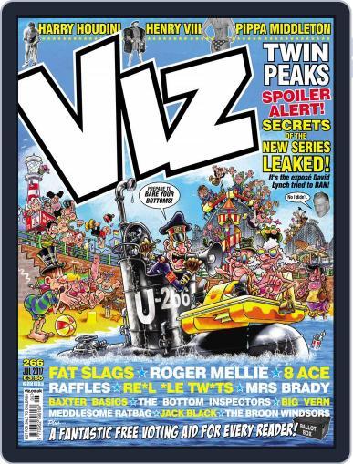 Viz (Digital) June 1st, 2017 Issue Cover