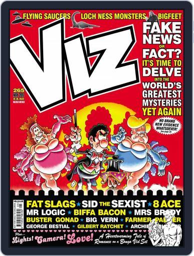 Viz (Digital) May 1st, 2017 Issue Cover
