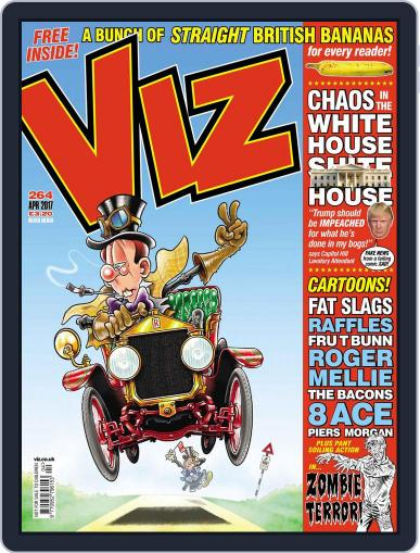 Viz (Digital) April 1st, 2017 Issue Cover