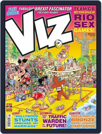 Viz (Digital) August 4th, 2016 Issue Cover