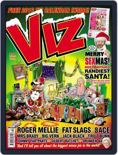 Viz (Digital) December 1st, 2015 Issue Cover