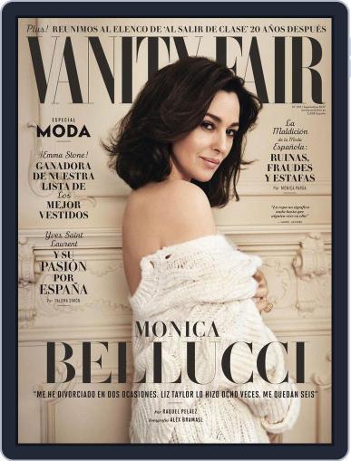 Vanity Fair España (Digital) September 1st, 2017 Issue Cover