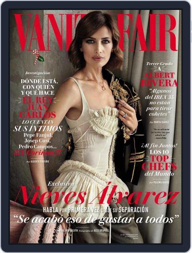 Vanity Fair España (Digital) November 20th, 2015 Issue Cover