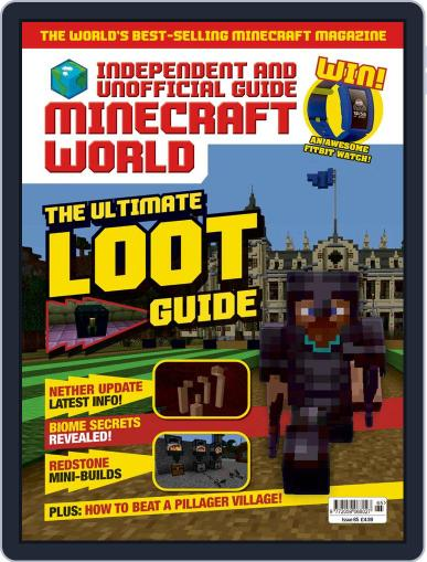 Minecraft World (Digital) April 16th, 2020 Issue Cover