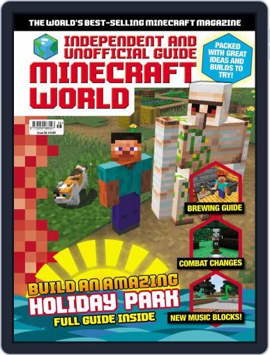 Minecraft World (Digital) November 1st, 2019 Issue Cover