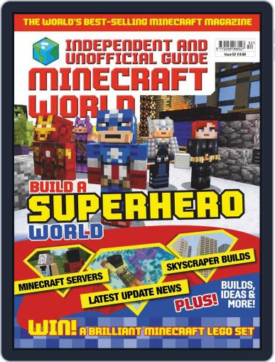 Minecraft World (Digital) July 1st, 2019 Issue Cover