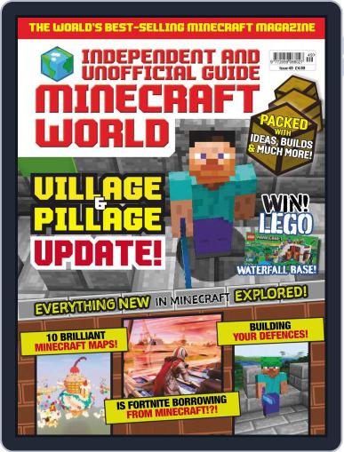 Minecraft World (Digital) April 1st, 2019 Issue Cover
