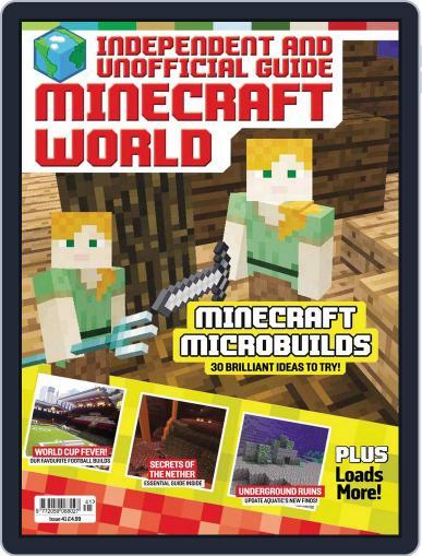 Minecraft World (Digital) September 1st, 2018 Issue Cover