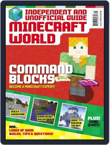 Minecraft World (Digital) November 1st, 2017 Issue Cover
