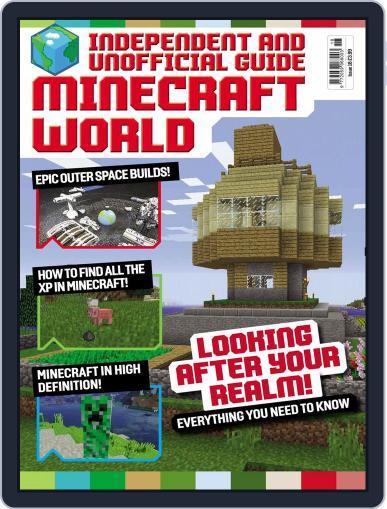 Minecraft World (Digital) October 1st, 2016 Issue Cover