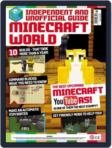 Minecraft World (Digital) March 3rd, 2016 Issue Cover