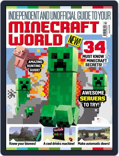 Minecraft World (Digital) June 25th, 2015 Issue Cover