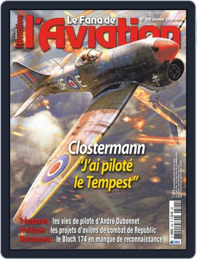 Le Fana De L'aviation (Digital) December 12th, 2018 Issue Cover