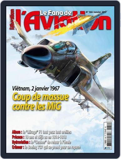 Le Fana De L'aviation (Digital) January 1st, 2017 Issue Cover
