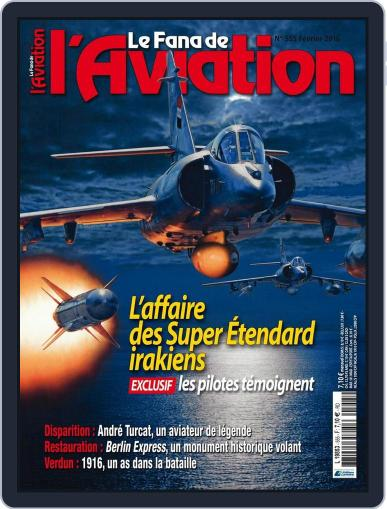 Le Fana De L'aviation (Digital) January 26th, 2016 Issue Cover