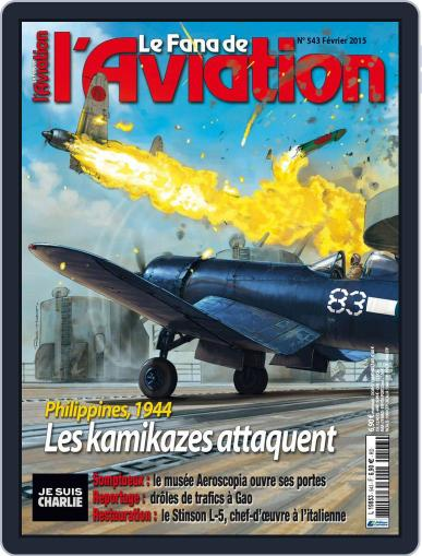Le Fana De L'aviation (Digital) January 25th, 2015 Issue Cover