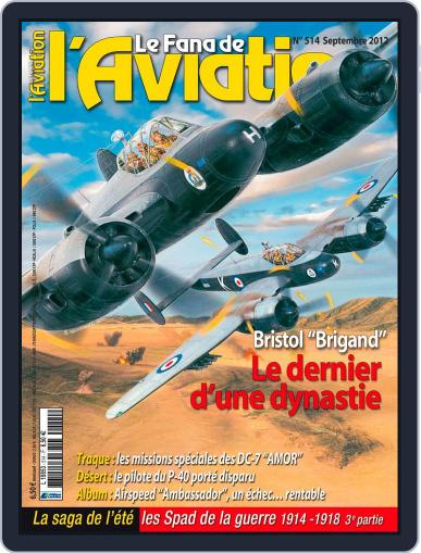 Le Fana De L'aviation (Digital) August 17th, 2012 Issue Cover