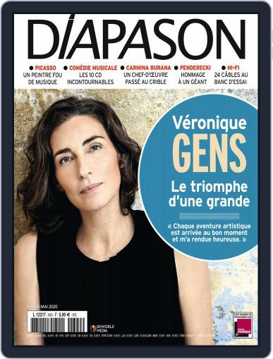 Diapason (Digital) May 1st, 2020 Issue Cover