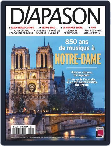 Diapason (Digital) April 1st, 2020 Issue Cover