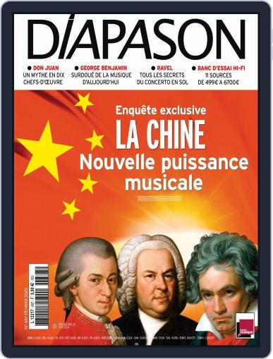 Diapason (Digital) February 1st, 2020 Issue Cover