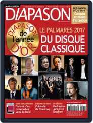 Diapason (Digital) Subscription December 1st, 2017 Issue