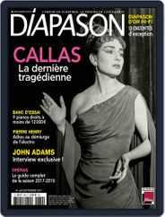 Diapason (Digital) Subscription September 1st, 2017 Issue