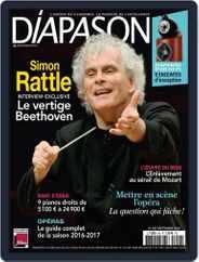 Diapason (Digital) Subscription September 1st, 2016 Issue