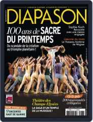 Diapason (Digital) Subscription May 24th, 2013 Issue