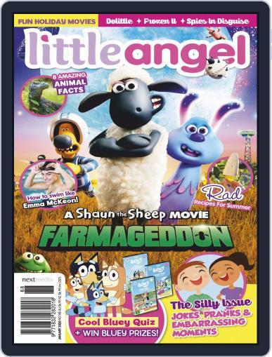 Little Angel January 1st, 2020 Digital Back Issue Cover