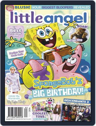 Little Angel August 1st, 2019 Digital Back Issue Cover
