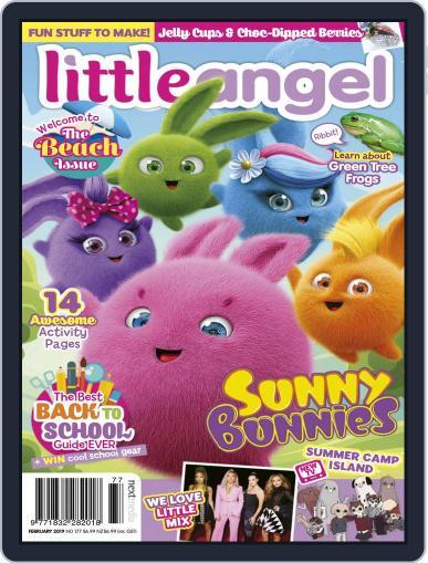 Little Angel February 1st, 2019 Digital Back Issue Cover