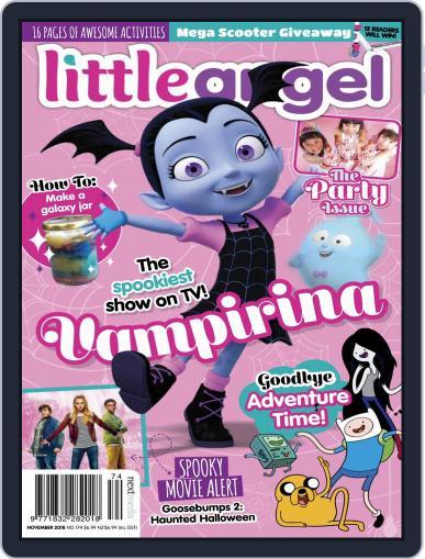 Little Angel November 1st, 2018 Digital Back Issue Cover