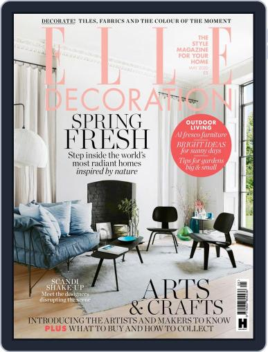 Elle Decoration UK (Digital) May 1st, 2020 Issue Cover