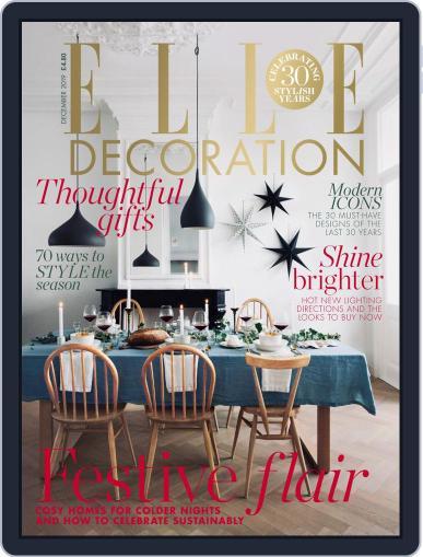 Elle Decoration UK (Digital) December 1st, 2019 Issue Cover