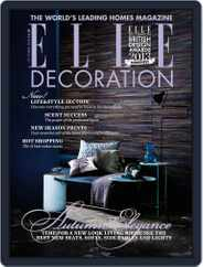 Elle Decoration UK (Digital) Subscription September 6th, 2013 Issue
