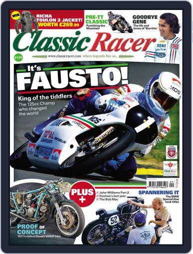 Classic Racer (Digital) September 1st, 2019 Issue Cover