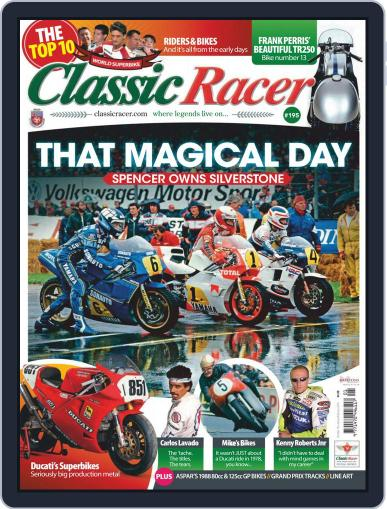 Classic Racer (Digital) January 1st, 2019 Issue Cover