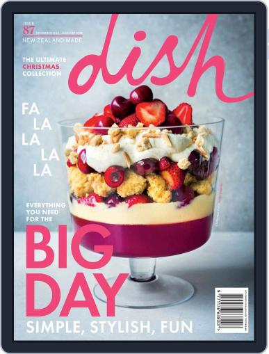 Dish (Digital) December 1st, 2019 Issue Cover