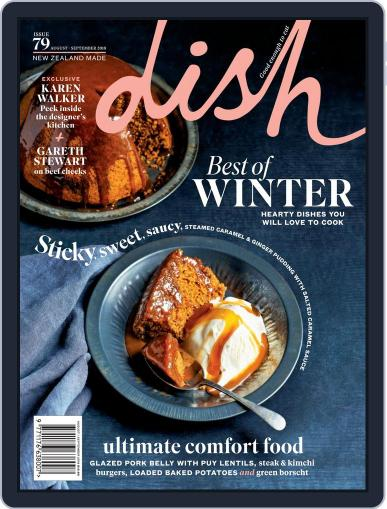 Dish (Digital) August 1st, 2018 Issue Cover