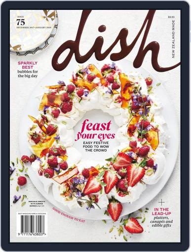 Dish (Digital) December 1st, 2017 Issue Cover