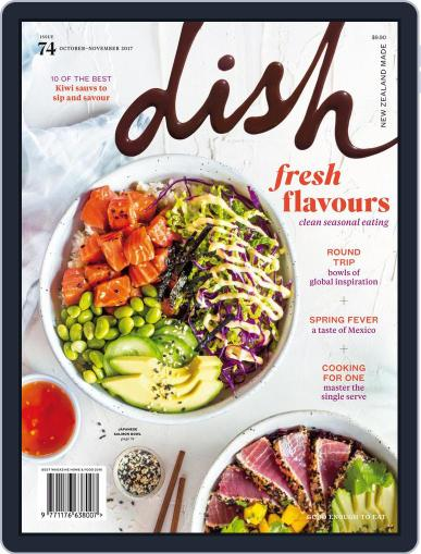 Dish (Digital) October 1st, 2017 Issue Cover