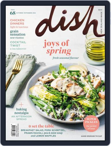 Dish (Digital) October 1st, 2016 Issue Cover