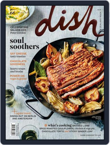 Dish (Digital) May 25th, 2016 Issue Cover