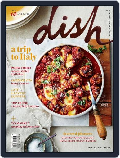 Dish (Digital) March 22nd, 2016 Issue Cover